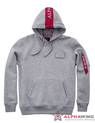 RED STRIPE HOODY