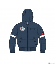 Hooded Puffer FD NASA