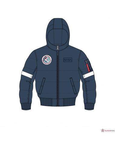 Hooded Puffer FD NASA