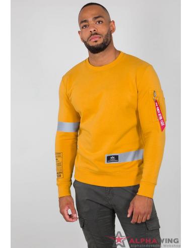 Reflective Stripes Sweater