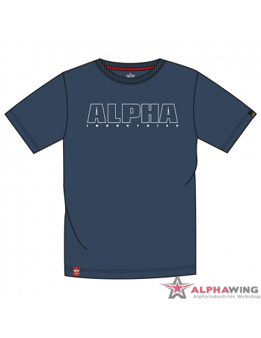 Alpha Embroidery Heavy T