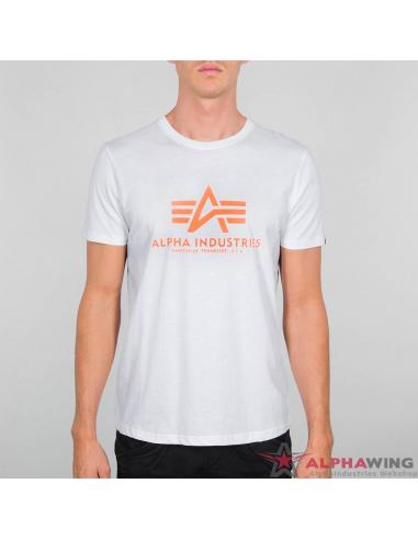 Basic T-Shirt Neon Print